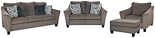 Nemoli Sofa, Loveseat, Chair and Ottoman, , large