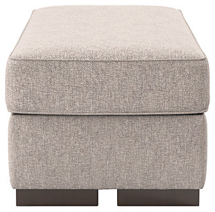 Ashlor Nuvella® Oversized Chair Ottoman, Slate, large