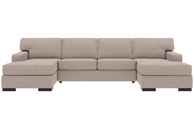 Ashlor Nuvella® 3-Piece Sleeper Sectional with Chaise, , large