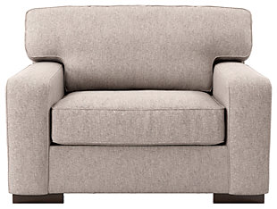 Ashlor Nuvella® Oversized Chair, Slate, rollover