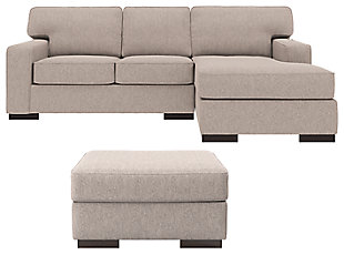 Ashlor Nuvella® 2-Piece Sectional with Ottoman, , large