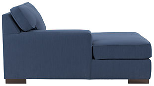 Ashlor Nuvella® 5-Piece Sectional with Chaise, Indigo, large