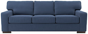 Ashlor Nuvella® Sofa, Indigo, large