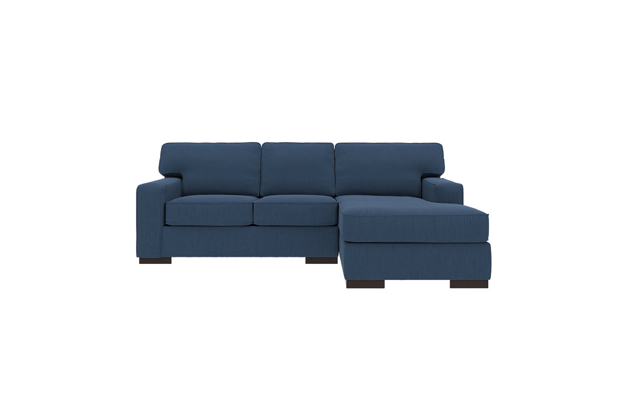 Tremendous Ashlor Nuvella 2 Piece Sectional With Chaise Ashley Gmtry Best Dining Table And Chair Ideas Images Gmtryco