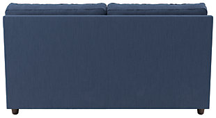 Ashlor Nuvella® 4-Piece Sectional with Chaise and Sleeper, Indigo, large