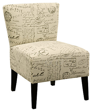 Ravity Accent Chair, Taupe, ...