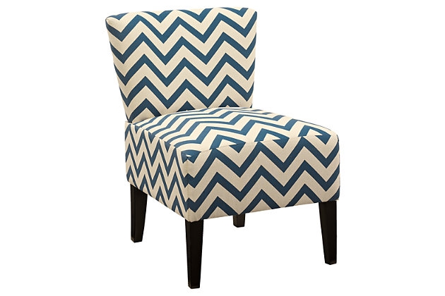 Ravity Accent Chair by Ashley HomeStore, Blue, Polyester (100 %)