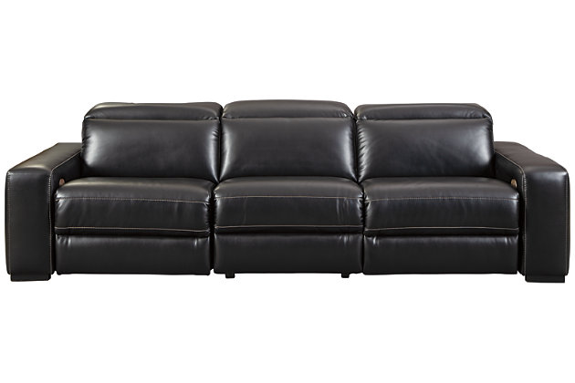 Mantonya 3-Piece Power Reclining Sectional, , large
