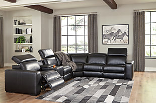 Mantonya 6-Piece Reclining Sectional with Power, , rollover