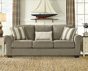 beige leather living room set. Baveria Sofa  large rollover Sofas Ashley Furniture HomeStore