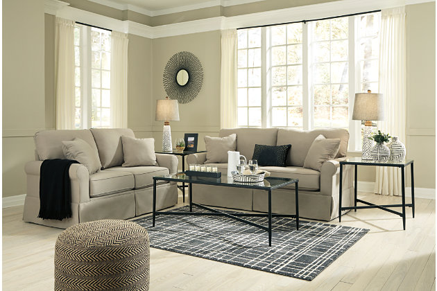 Senchal Sofa and Loveseat Set, , large