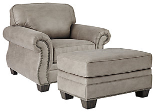 Olsberg Chair and Ottoman, , rollover