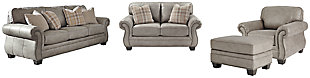 Olsberg Sofa, Loveseat, Chair and Ottoman, , large
