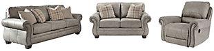 Olsberg Sofa, Loveseat and Recliner, , large