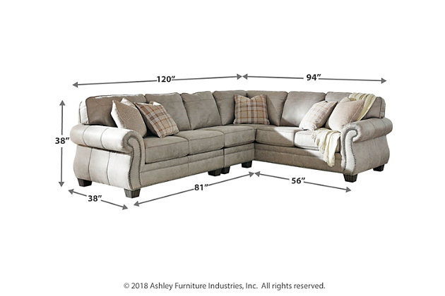 Olsberg 3-Piece Sectional, , large