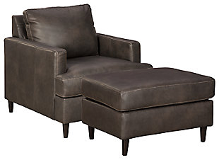Hettinger Chair and Ottoman, , large