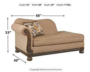 Westerwood Left-Arm Facing Corner Chaise, , large