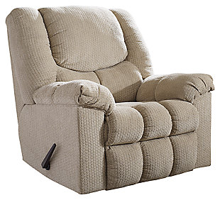 Turboprop Recliner, Putty, large