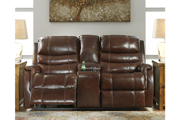 Mineola Power Reclining Loveseat, , large