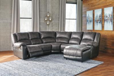 Nantahala 5Piece Sectional Ashley Furniture HomeStore