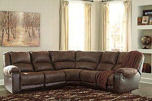 Nantahala 5-Piece Reclining Sectional, , rollover