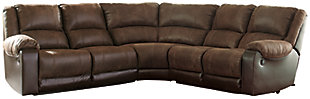 Nantahala 5-Piece Reclining Sectional, , large