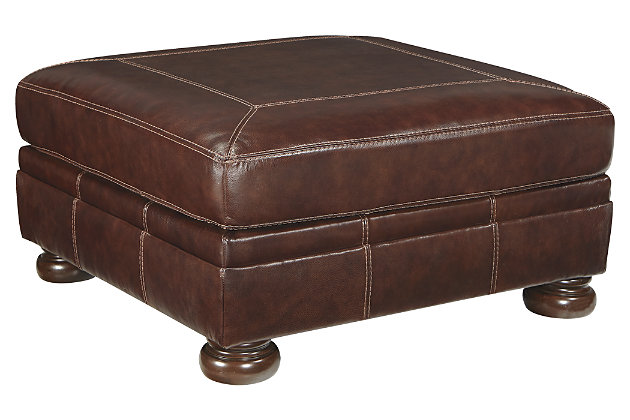 Banner Oversized Ottoman, , large