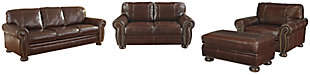 Banner Sofa, Loveseat, Chair and Ottoman, , large