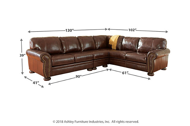 Banner 3-Piece Sectional, , large