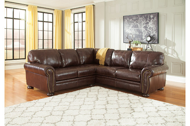 Banner 2-Piece Sectional by Ashley HomeStore, Brown