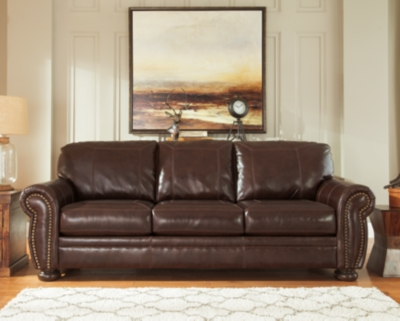 Banner Sofa by Ashley HomeStore, Coffee Leather