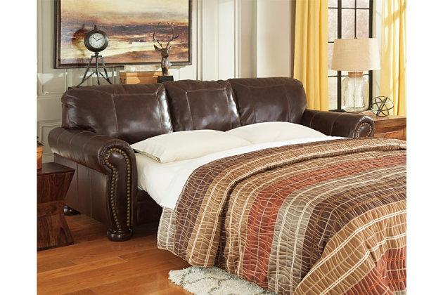 Tufted Black Bonded Leather Sofa Set 85