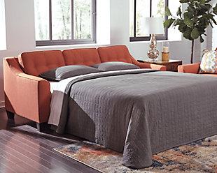 Menga Sofa Sleeper, Rust, rollover