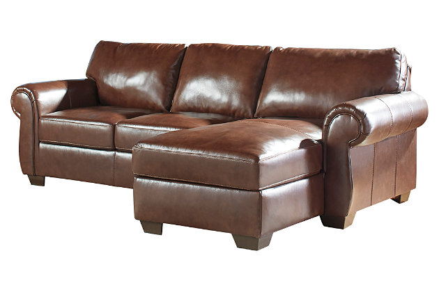 Lugoro 2 piece sectional ashley furniture homestore for Affordable furniture 3 piece sectional in wyoming saddle