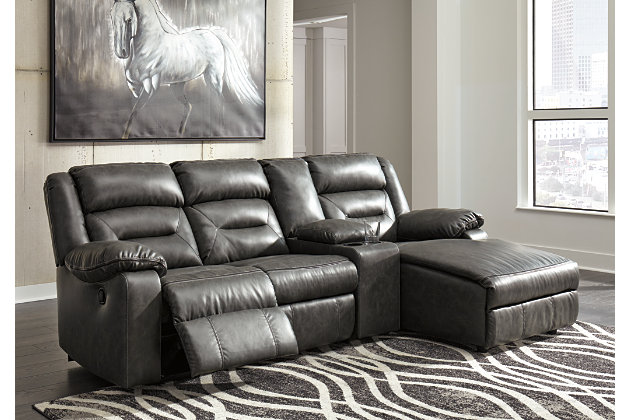 Coahoma 4-Piece Reclining Sectional with Chaise | Ashley Furniture ...
