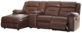 Coahoma 4-Piece Reclining Sectional with Chaise and Power, , large