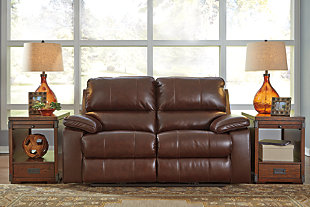 Transister Power Reclining Loveseat, , large