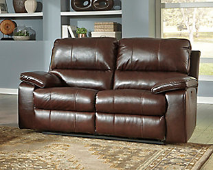 ... Large Transister Power Reclining Loveseat, , Rollover