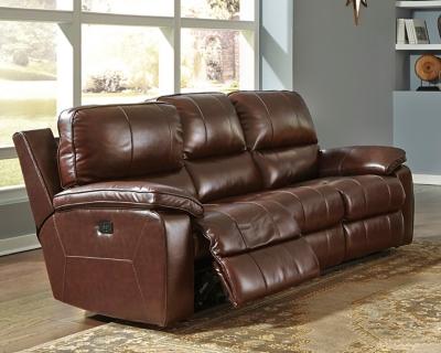 Transister Power Reclining Sofa by Ashley HomeStore, Coff...