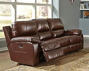 ... Large Transister Power Reclining Sofa, , Rollover
