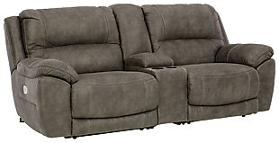 Cranedall 3-Piece Power Reclining Sectional, , large
