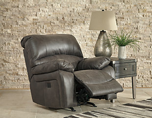 Dunwell Power Recliner, Steel, rollover