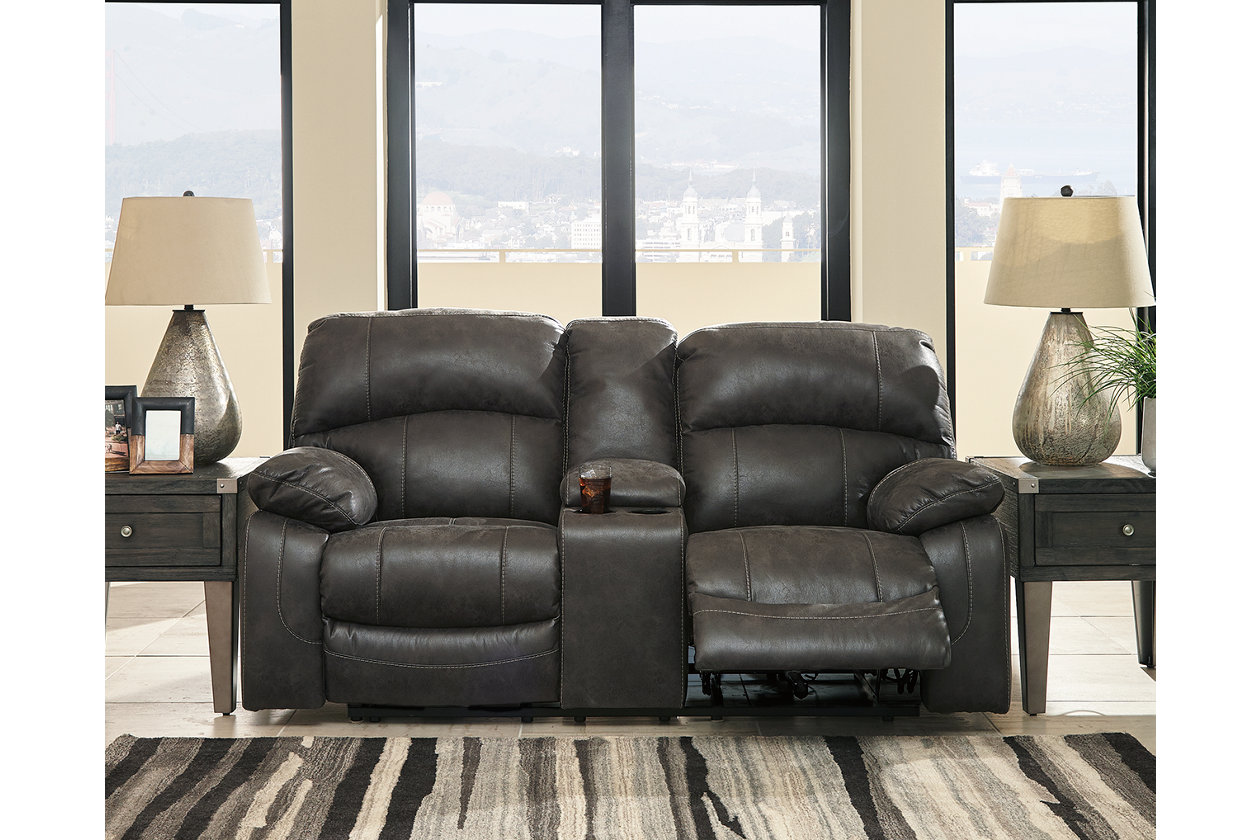 Remarkable Dunwell Power Reclining Loveseat With Console Ashley Squirreltailoven Fun Painted Chair Ideas Images Squirreltailovenorg