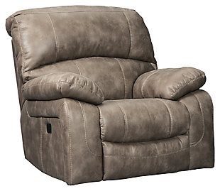 Dunwell Power Recliner, Driftwood, large