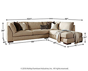 Malakoff 2-Piece Sectional with Chaise, , large