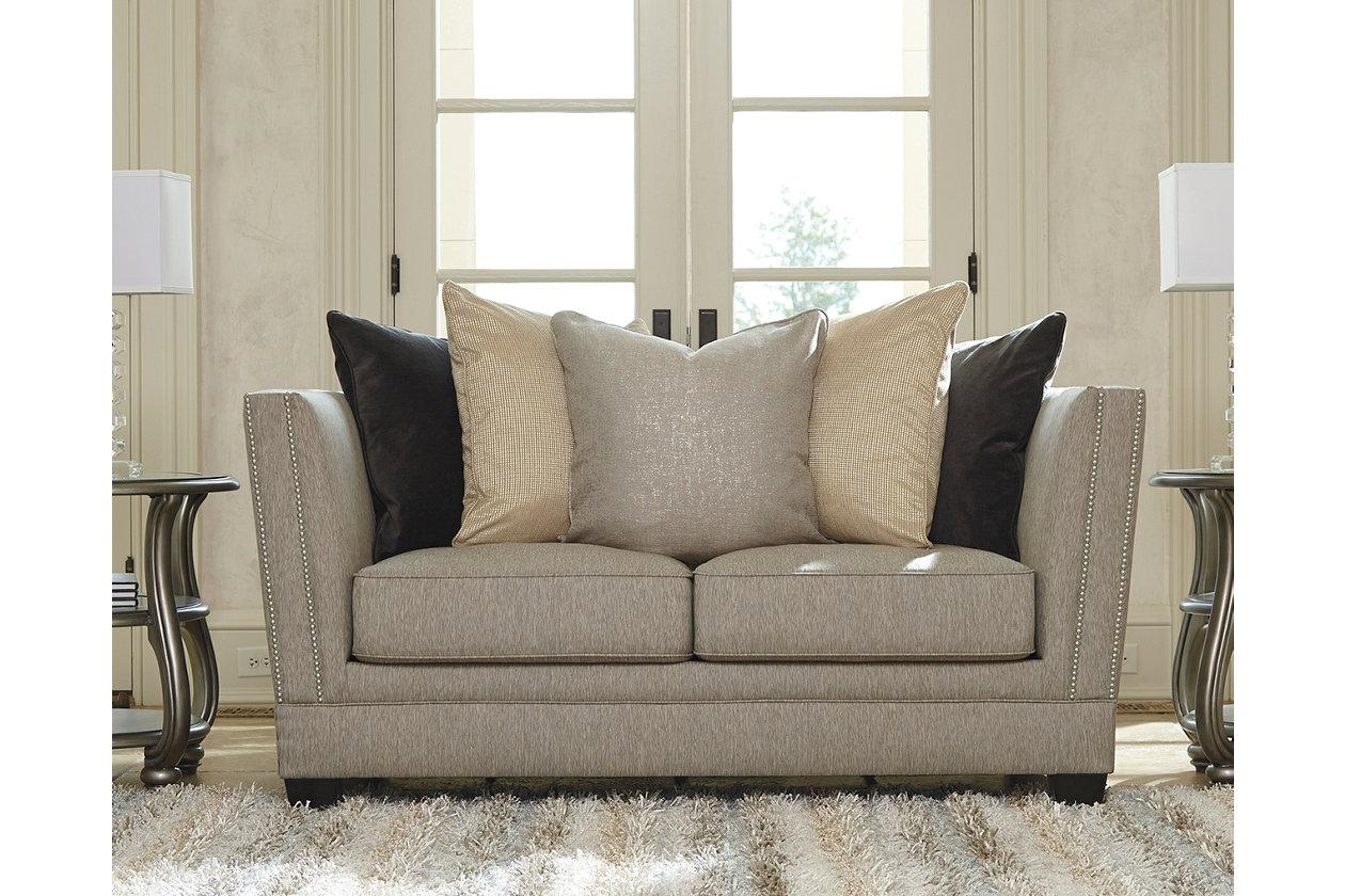 Enjoyable Vilonia Loveseat Ashley Furniture Homestore Machost Co Dining Chair Design Ideas Machostcouk