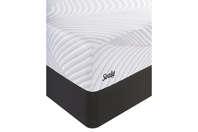 Sealy Optimistic Plush Full Mattress, White, large