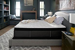 Sealy Grand Mesa Plush Euro Pillow Top Queen Mattress, White/Gray, large