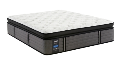 Ashley Grand Mesa Plush Euro Pillow Top King Mattress Sealy