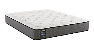 Sealy Holter Lake Firm Tight Top Queen Mattress, White/Gray, large